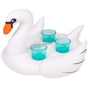 Brand new! Sunnylife Inflatable Swan Drink Holder